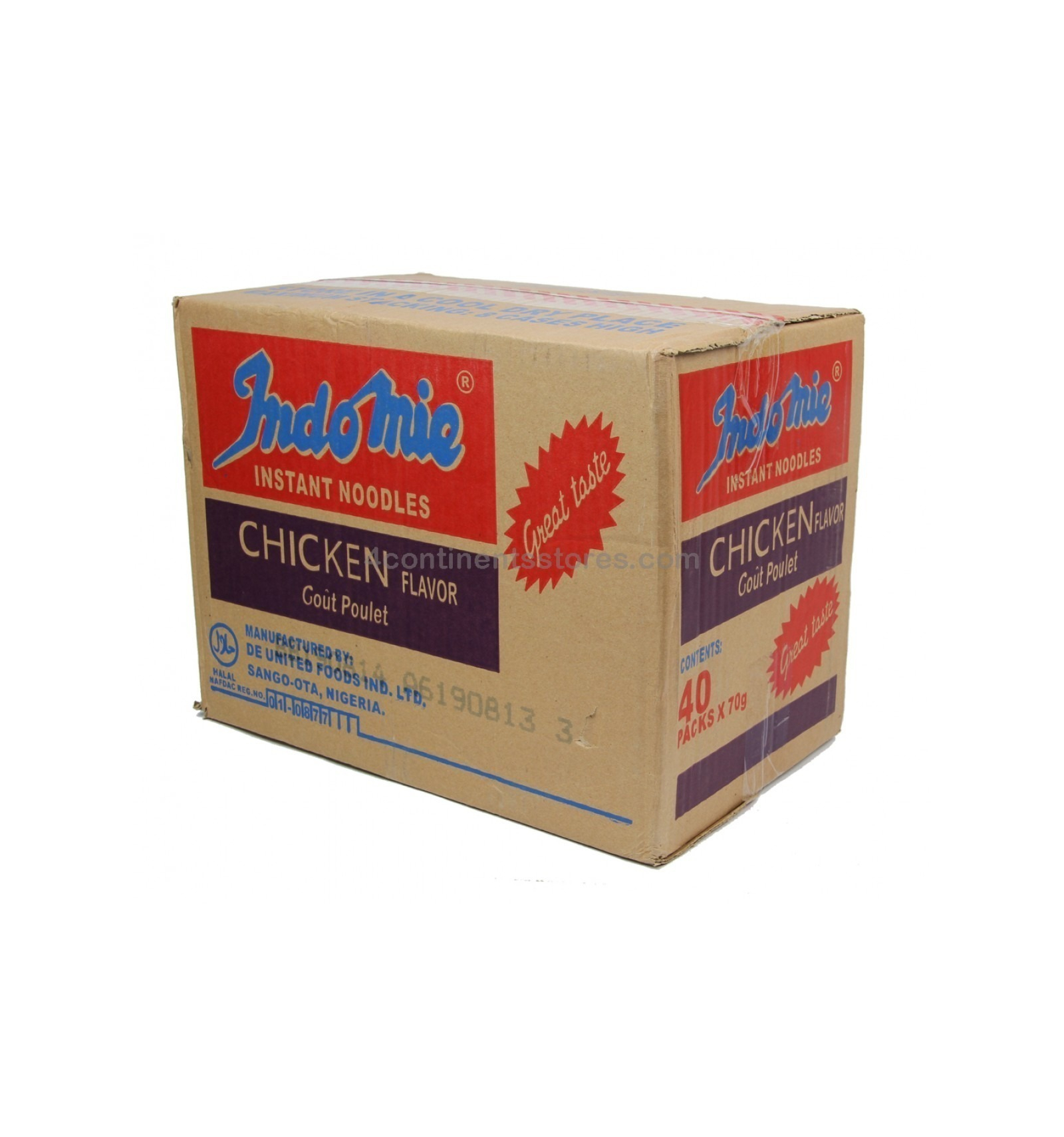 Indomie chicken 70g(box of 24)